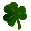 Large irish shamrock
